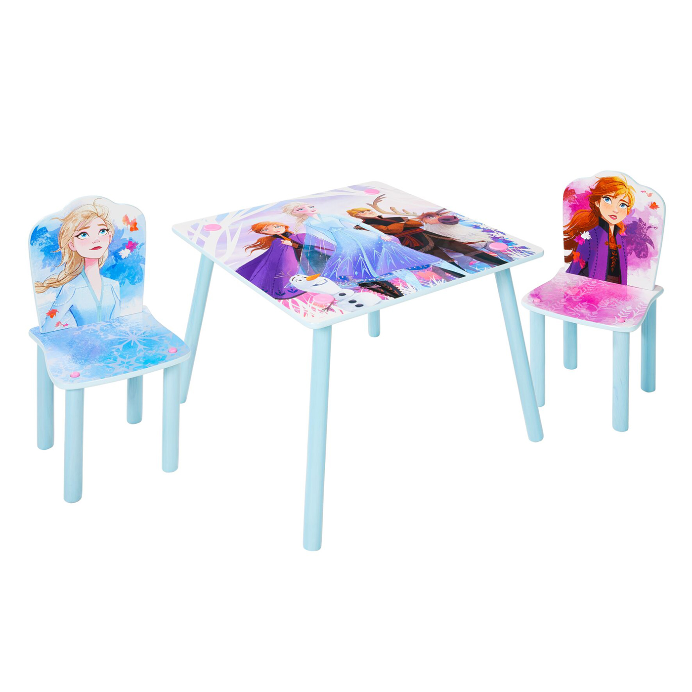 Disney Frozen Table And 2 Chairs Set Moose Toys