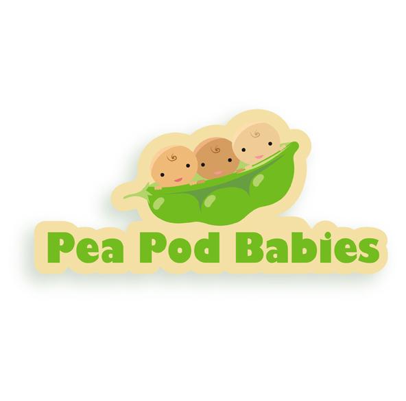 pea pod babies brand image