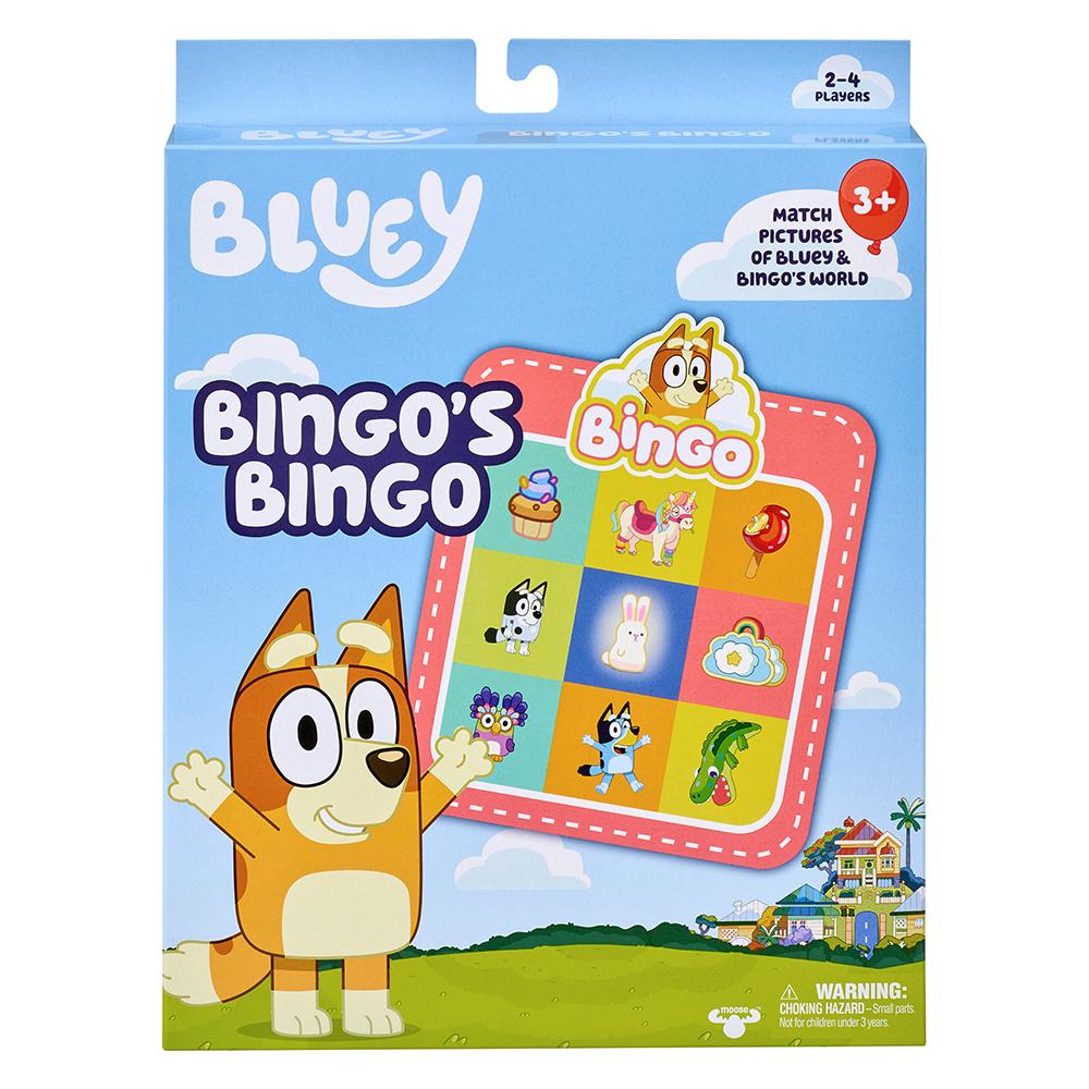 Bluey S5 Sound Effects Plush Bingo