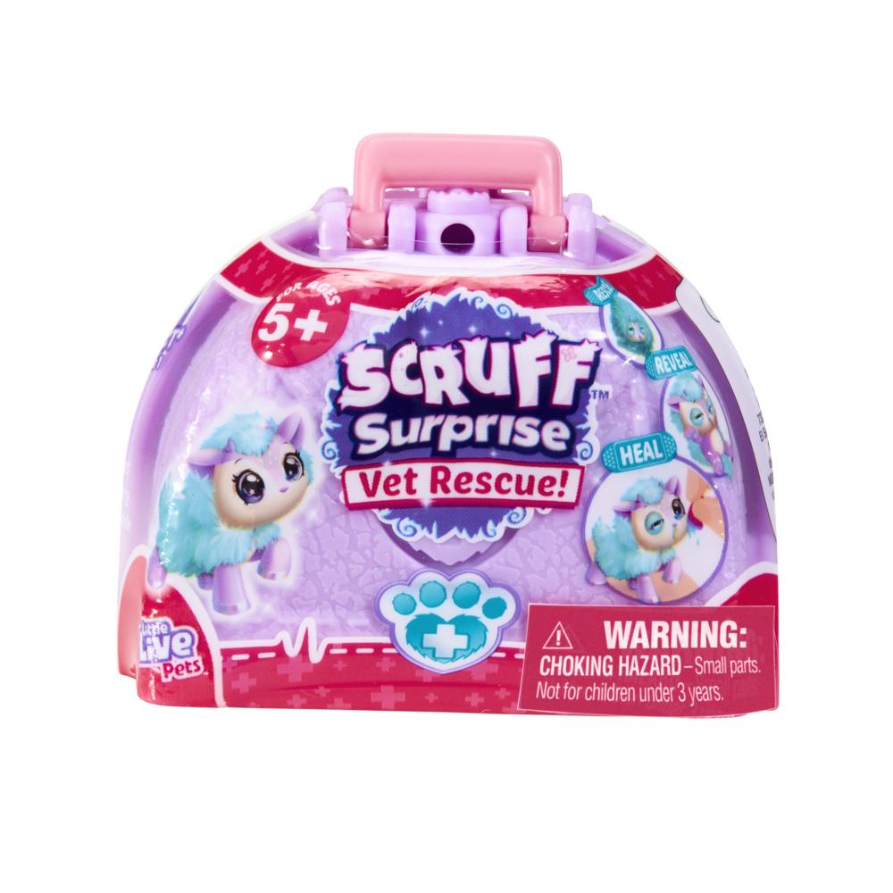 Scruff-A-Luvs Scruff Surprise Vet Rescue Lot Of 4 Sealed Surprises