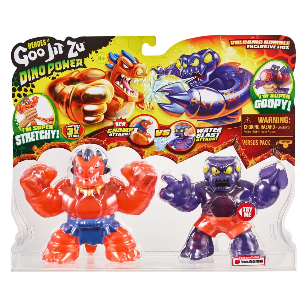 Tyro Hero Pack Heroes of Goo Jit Zu Dino Power Chomp Attack Figure New